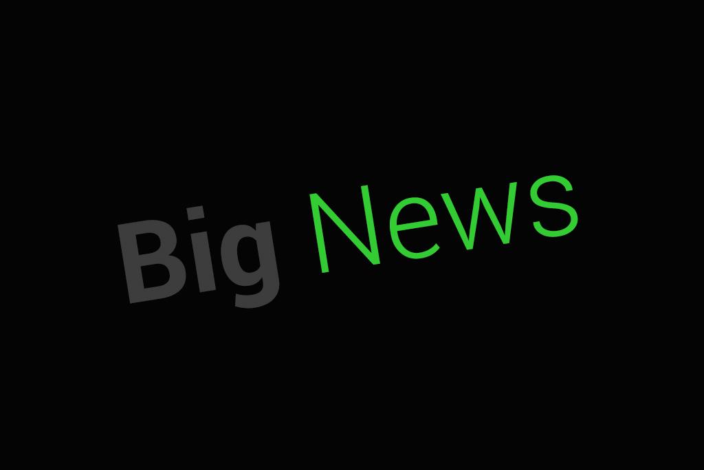 Big news!